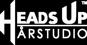 headsup logo hvit